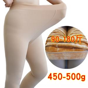 HhCZO 6046 Outono nova e Yiwu tamanho grande nu 6046 outono e inverno novo Yiwu grande ba artificial pé pad 500g gordura da perna mm artefato legging