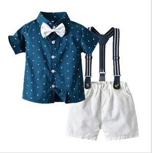 Children's wear summer boys' clothes children's Short Sleeve Shirt Star printed shorts wholesale factory direct sales