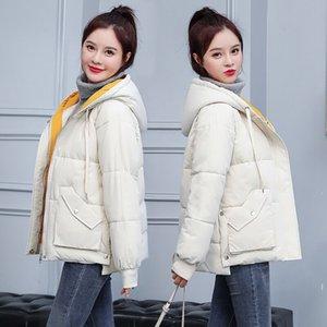 Orwindny Autunno Inverno Cappotto donna breve incappucciato femminile giacca di cotone imbottito Jacket per gli studenti S-2XL Parkas casaco Feminino
