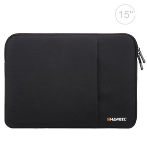 HAWEEL 15.0 inch Sleeve Case Zipper Briefcase Laptop Carrying Bag, For Macbook, Samsung, Lenovo, Sony, DELL Alienware, CHUWI, ASUS, HP, 15 i