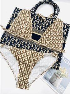 2020 dames plage Maillots de bain sexy lingerie chaud bikini 2 pièces sexy maillot de bain boucle Drill Maillot de bain femme Livraison gratuite
