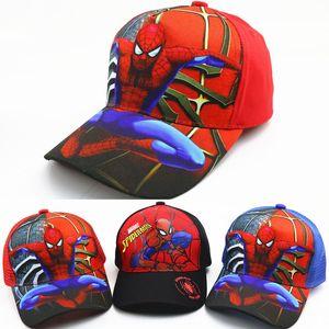 Hat Spider-Man children's mesh baseball cap pupil performance cartoon baseball cap