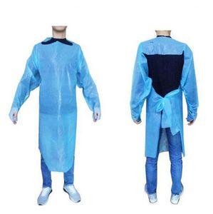 CPE ملابس واقية المتاح حماية أثواب الملابس الدعاوى الكفات الغبار ساحة في الهواء الطلق في الأماكن المغلقة ملابس واقية FFA4261