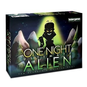 Carte drôle de jeu One Night Ultimate Alien Family Party Board Game