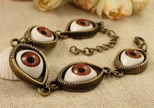 Vintage Evil Eye Bracelet For Women Chains Bracelets 5Eyes Charm Bracelets Bangle Jewelry free shipping ps0738