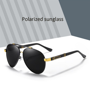 عالية الجودة الرجال الاستقطاب النظارات الشمسية مصمم طيار نظارات للأشعة فوق البنفسجية 400 نظارات الشمس الشمس نظارات gafas دي سول