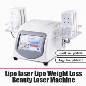 160Mw Diode Lipo Laser LLLT Fat Burning Anti-Cellulite Body Sculpting 14 Pads Beauty Slimming Machine Spa