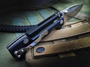 Новый OEM Холодное AD-15 Survival Tactical Складной нож S35VN каплепадения сатин лезвия Черный G10 + T6061 Алюминиевая ручка