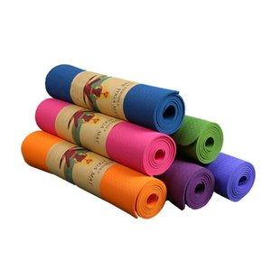 6мм EVA Yoga Mat Unisex Non-Slip ЕВА Йога упражнения Мат 183x61cm Пилатес упражнения для тела Строительные материалы
