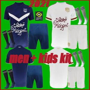 كيت الرجال الاطفال 2020 لكرة القدم بالقميص بوردو 2020 2021 BRIAND S.KALU KAMANO واجهة المستخدم جو BENITO DE PREVILLE BASIC قمصان كرة القدم