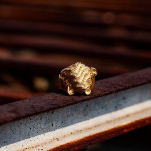 2020 새로운 남자 반지 메두사 벌크 패션 골드 반지 티타늄 스틸 반지 높은 품질의 커플 링 쥬얼리 패션 도매