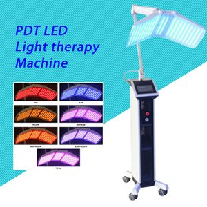 2020 Top quality Floor Standing Pro PDT machine PHOTON FACIAL Skin Rejuvenation Red+ Blue+ Yellow +Green LED light therapy equipment CE