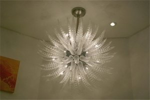 High Ceiling Home Craft Decoration Romantic Contemporary Chandelier 100% Mouth Blown Borosilicate Chihully Hand Blown Glass