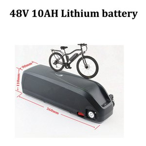 48v 10ah lithium 48V 10AH li ion bateria 18650 BMS for 650W motor electirc Mountain bike bicycle USB charging +2A charger