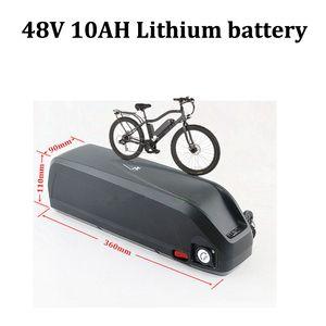 48v 10AH лития 48V 10AH литий ионный Bateria 18650 BMS для 650W мотора Electirc горного велосипеда велосипеда USB зарядка + зарядное устройство 2A