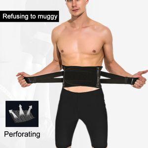 Protezione Sport elastico posteriore di sostegno gancio della vita Belt Ajustable Fitness palestra del tratto lombare della vita sostenitore per la sicurezza Sport