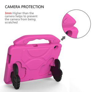 Para Huawei MediaPad T3 10 9.6 polegadas Anti de EVA Crianças material que cai cobrir escudo protetor com suporte Thumb