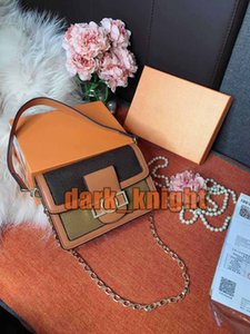 New Crossbody Mini Womens Shoulder Bag Two Size Retro Fashion Leather Fabric Designer Lady Small Square Bag Handbag