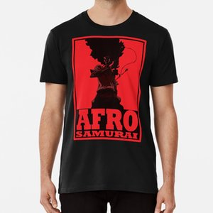 afro T shirt samurai afro anime naruto tokyo ghoul bleach fullmetal alchemist