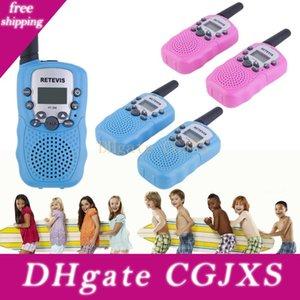 2 PCS / lote Rádio Meninos e Meninas Brithday presente Xmas RT-388 Walkie Talkie brinquedos para as crianças 0.5W 22CH Two Way Crianças