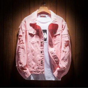 Luxury mens Denim Jacket Hip Hop Coat Windbreaker fashion designer jackets Men Women Jean Jackets Streetwear Coat Skateboard Denim Garment