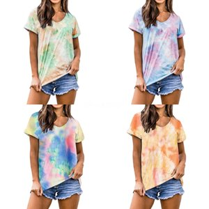 Fashion Nightclub New Round Neck Shirt Letter Fire Sequins T Shirts Short Sleeved For Womens Tops Loose Gold Silver Black#982