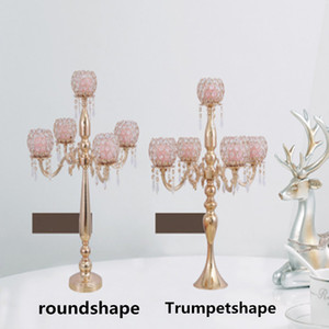 New Hand Made Crystal Tea light Candle Holder For Coffee Dining Table Wedding Christmas Halloween Party Home Decoration