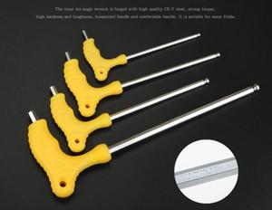 T-Typ-Handwerkzeug 2 / 2,5 / 3/4/5/6/8 / 10 / 12mm Material Innensechskantschlüssel Metric Schraubenzieher-Werkzeug-Schlüssel