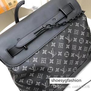 #3791 5A L PM V STEAMER Small Handbag Men Crossbody Portfolio Briefcases Bag Top Handles Messenger Shoulder Bags Totes Cross Body Bag 44731