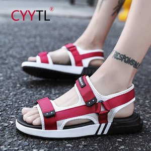 CYYTL Men's Sandal Shoes Summer Beach Shoes Leisure Sports Slippers Hiking Sneakers Breatheble Flip Flops Calzado Hombre