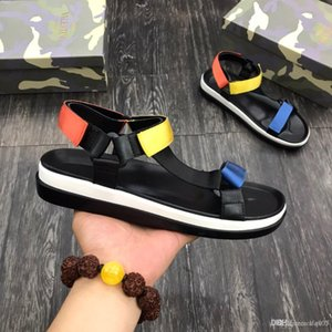 1:1 men designer luxury sandals casual shoes Original material air star fashion Plate-forme Breathable VAL 2409 size 39-44 with box