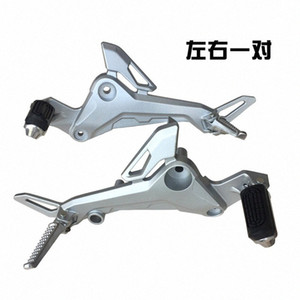 motocicleta eléctrica M3 pedal del pedal de MSX125 M5 muñeca del mono motocicleta izquierda y accesorios reposapiés derecho HJsI #