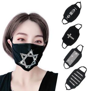 Bling Party Mask Hollow Кристалл партия Masquerade маска для лица Veil Противопыльная партию Маски для женщин ювелирных изделий ночного клуба Декоративных Украшений