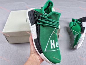 2020 NMD Human Race Mens Casual Shoes Williams Sample Yellow Core Black Sport progettista Shoes Women Sneakers Xshfbcl 36-46