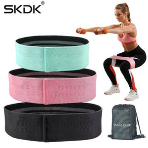 oga Resistance s 3PC Hip Fitness Band Cotton Yoga Resistance Band Wide Fitness Exercise Legs Elastic Band Loop Circle Squats Anti Slip Tr...