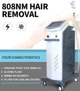 Rimozione permanente dei capelli Laser Professional Super High Power! 808nm diodo Laser Hair Removal macchina 808nm depilazione permanente Lazer macchina