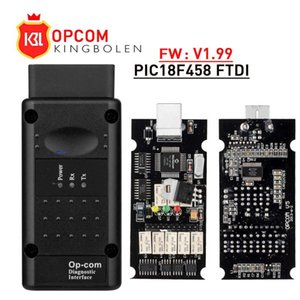 Vediamo Opcom V1.99 V1.78 V1.65 with PIC18F458 FTDI OP COM OBD2 Auto Scanner for Car CAN BUS V1.7 Flash Update Free