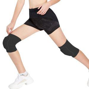 Veidoorn 1prs rodillera de la rodilla de apoyo transpirable manga Brace Protector para el funcionamiento de los deportes de entrenamiento de gimnasia baile