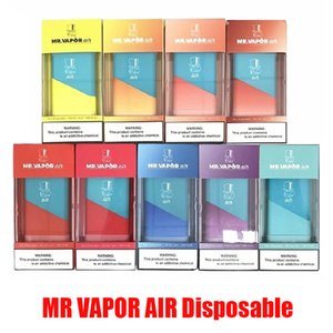 MR VAPOR AIR Einwegvorrichtung Pod Starter Kit 350mAh Batterie 3 ml Patrone Pods 500 Puff Vape Pen VS Xtra Flow Plus BIDI Stick Pro Kits