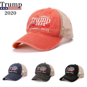 2020 USA Election Trump Baseball Hat Keep America Great Again American Flag President Party Hats Fashion Embroidery Adjustable Snapback Cap