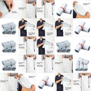 Bize Beyaz Kurye Posta Poly Posta Ambalaj Torbaları Kendinden yapışkanlı Posta Ekspres Posta Torbalar Ürünler Bagsstorage Lot mylovethome NIJ Packaging