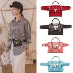 The most popular brand recommended ladies fashion belt bag Platinum lock belt bag with removable belt Mini shoulder bag