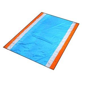 Hot-Sand Free Beach Proof Blanket Areia rápida secagem Praia Mat Outdoor Picnic Mat para Festivais Viagem Camping Caminhadas Música
