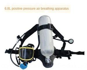 RHZKF6.8 / 30 cylindre composite en fibre de carbone fibre de carbone bouteille de gaz composite 6,8 litres 9 litres aircylinder de pression positive