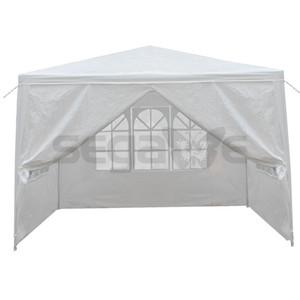 """10'x10 """"4 الجدران في الهواء الطلق حزب الستارة خيمة الزفاف الثقيلة أكشاك حديقة BBQ"""