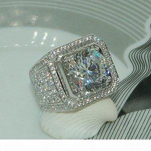 U Stunning New Arrival Fashion Luxury Jewelry 925 Sterling Silver White Sapphire Round Cut Cz Zirconia Party Women Wedding Engagment Me