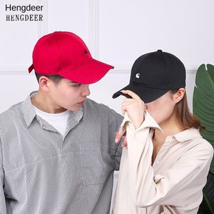 emnI0 New men's and women's outdoor Korean baseball cap season all-match casual sunshade embroidery breathable baseball cap embroideryHat em