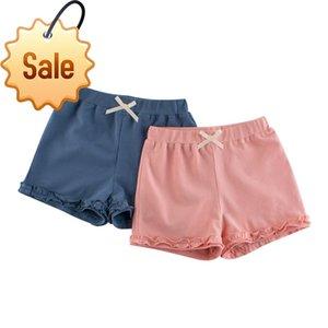 Kızlar Şort Yaz Çocuk Yarım Pantolon Sıcak Şort 2020 Katı Plaj Şort Kurulu Çocuk Giyim Yeni Casual Pamuk Breech