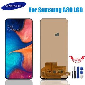 Preto Incell Top Quality Display LCD digitador Assembléia para Samsung Galaxy Parts tela A80 A805 A805F substituição