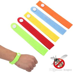 Mosquito Repellent Band Anti-mosquito Bracelet Phone Ring Hair Rope Bracelets Pest Control Tools Home Decor Bathroom Kitchen Accessories